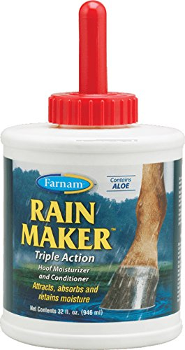 Farnam Home & Garden 39701 Rain Maker Hoof Ointment, 32-Oz. - Quantity 6 Grooming & Remedy Supplies, Farm Animal -