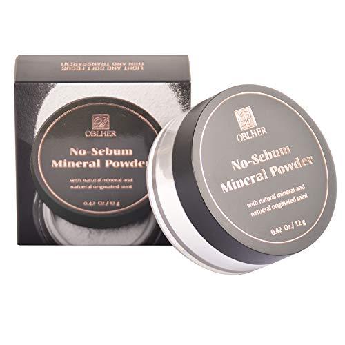 B OBLHER Loose Powder Une poudre fixatrice adaptée aux peaux froides et crèmes, utilisée pour la fixation ou le fond de teint, légère, longue tenue, waterproof et anti-cernes
