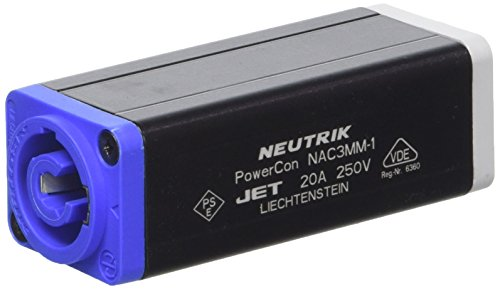 Neutrik NAC3MM1 - Adaptador de conector powerCON a conector powerCON