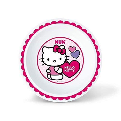 Prato Fundo Hello Kitty - NUK, Branco/Rosa