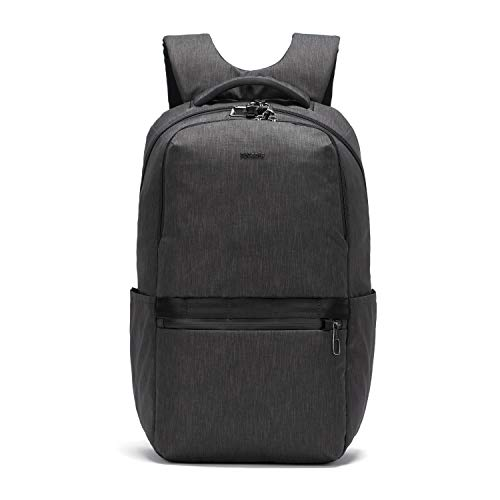 Pacsafe Men's Metrosafe X Anti Theft 25L Backpack-With Padded 15' Laptop Sleeve, Carbon Grey