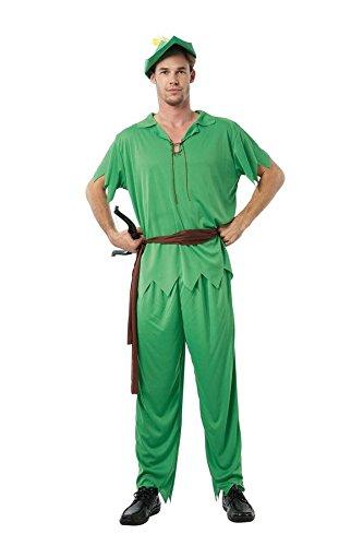 P 'tit Clown–86668–Kostüm Erwachsene Peter–Einheitsgröße