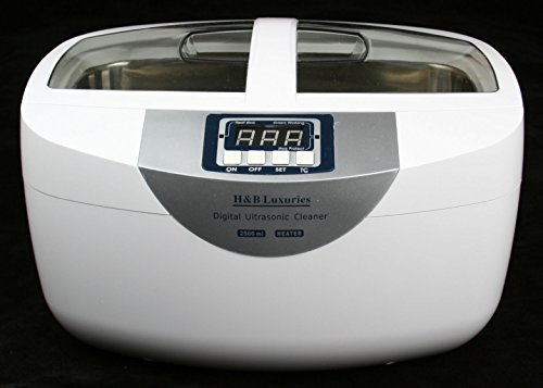 Industrial Grade 160 Watts 2.5 Liters Digital Heated Ultrasonic Cleaner