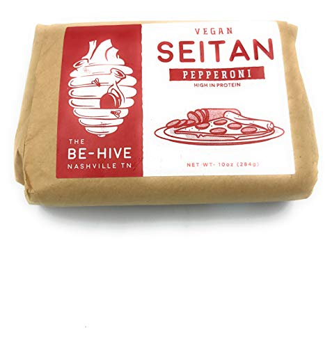 The Be Hive, Pepperoni Seitan Plant Based, 10 Ounce