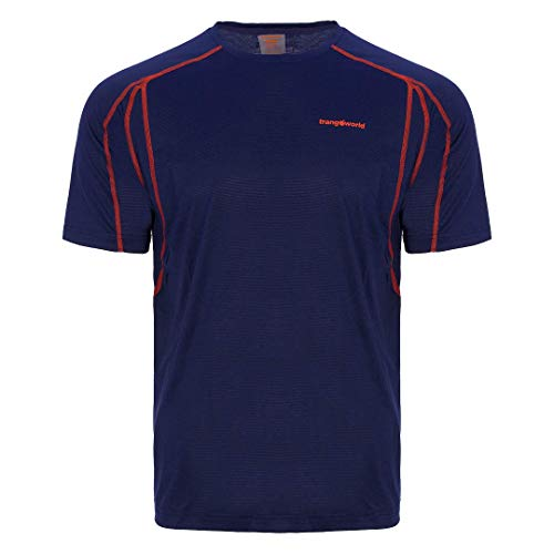 Trangoworld Coiro T-Shirt Homme, Bleu Nuit, M