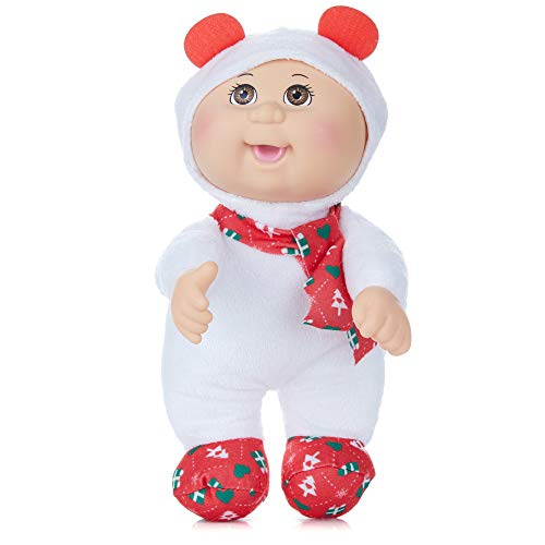 Cabbage Patch Kids Cuties Snowflake Polar Bear 9 Inch Soft Body Baby Doll - Holiday Helper Collection
