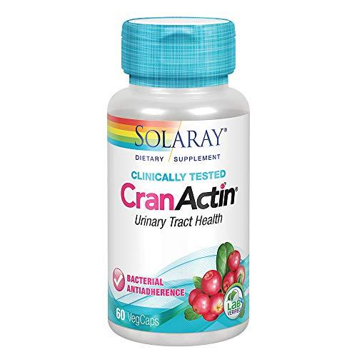 Solaray Cranactin Cranberry Capsule - Pack of 60