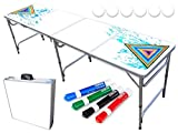 PartyPongTables.com 8-Foot Beer Pong Table - Party Pong Professional Edition