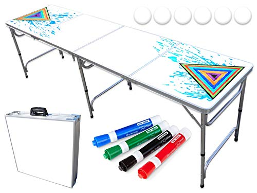 PartyPongTables.com 8-Foot PartyPong Pong Table - PartyPong Professional Edition