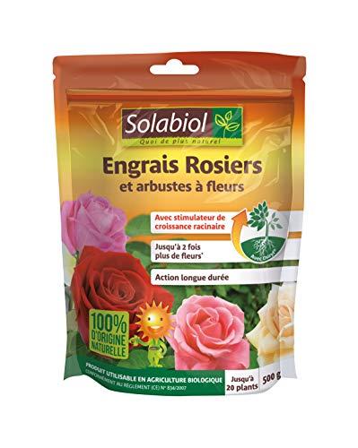 Solabiol SOROSY500 Engrais Rosiers et...