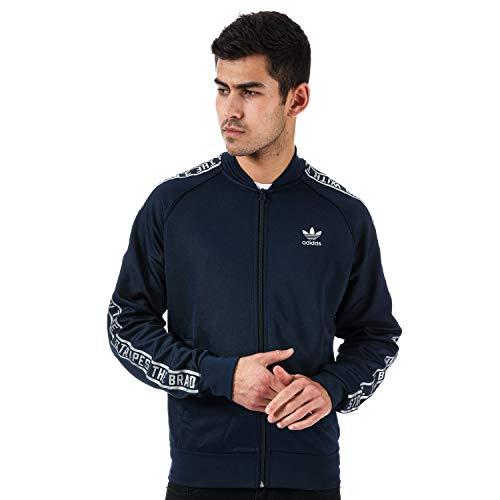 Adidas Originals SST - Chaqueta deportiva para hombre, color azul marino Azul azul XS