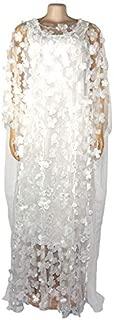 Summer Women's Dress Flower Women's Dress Three-Dimensional Embroidered Plus Size Maxi Skirt Elastic Vest Maxi Skirt