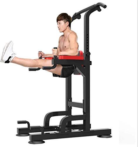 Estación de elevación vertical de rodilla, torre multifunción para entrenamiento de fuerza, levantamiento de músculos, máquina de tracción, para adultos, entusiastas del fitness, uso en el hogar y e
