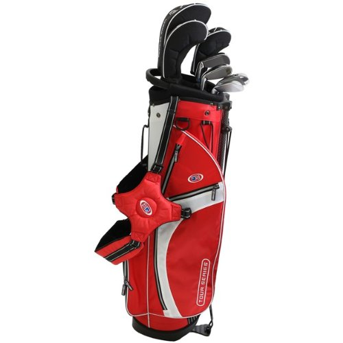 US Kids Golf USKG Tour Series RIGHT HANDED RECHTSHAND TS 57-39 Komplettset (10 teilig Stahl), Complete Set 10 parts, steel shafts, perfect clubs for kids, ideale golfschläger für kinder/jugendliche