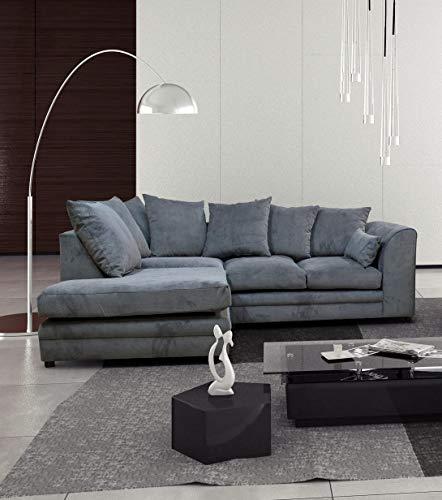 Casper Left Hand Corner Sofa Grey
