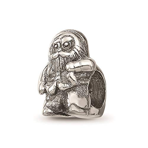 925 Sterling Silver Charm For Bracelet Santa Claus Bead Holiday Celebration Fine Jewellery For Women Gifts For Her