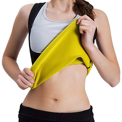 Sudor para Mujer Chaleco de Neopreno Cinturón de Entrenamiento para la pérdida de Peso Sudor Caliente para Adelgazar Sauna Traje 🔥