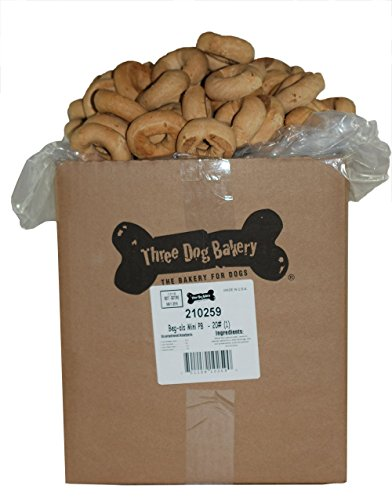 Three Dog Bakery Beg-Als Peanut Butter Dog Treats, 32-Ounce
