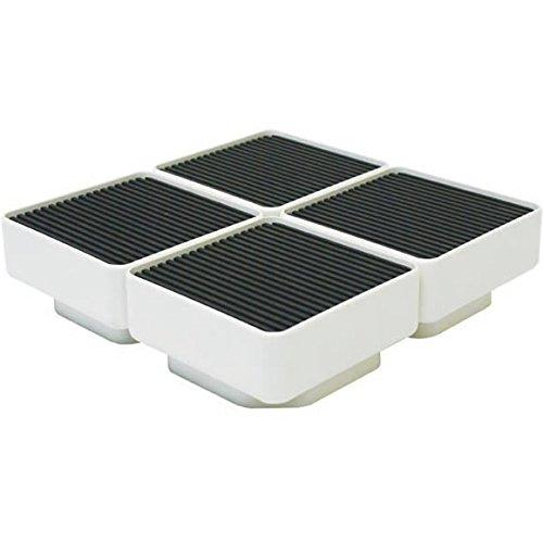 テクノテック[TECHNOTECH] 洗濯機設置台座【D77】 4個セット 157×157×77 (TP-640用) イージースタンド