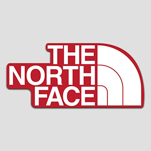 "GI The North Face Decal Sticker Vinyl | American Brand | Premium Quality | 5.5"" X 2.75"