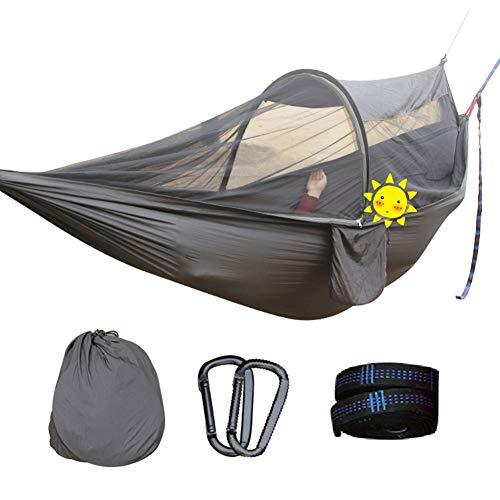 ZHANG HONG-tapijt Z-H-C Parachute Anti-muggen Hangmat, draagbaar Perfect voor het slapen in de tuin Yard