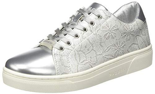 bugatti Damen 431877015950 Sneaker, Silber (Silver/White 1320), 41 EU