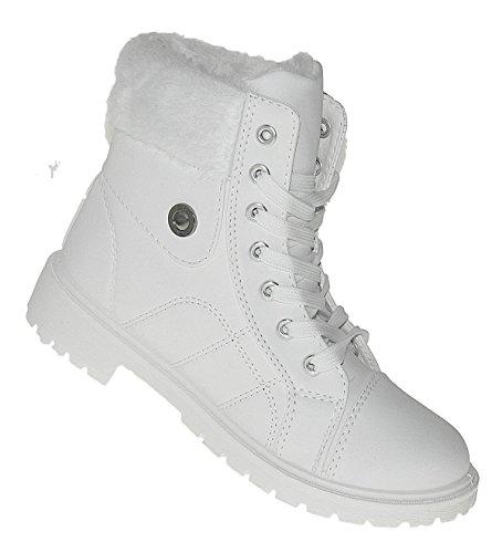 Bootsland 616 Winterstiefel Damenstiefel Stiefel Winterschuhe Damen Snow, Schuhgröße:41