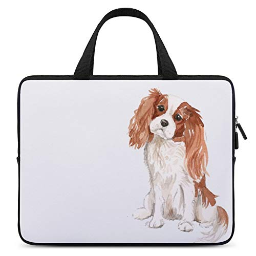 Laptop Carrying Bag,MacBook Bag,Notebook Computer Case,12inch,Cover for Apple/MacBook/HP/Acer/Asus/Dell/Lenovo/Samsung,Color of Dog King Charles Spaniel Cavalier King Charles Spaniel