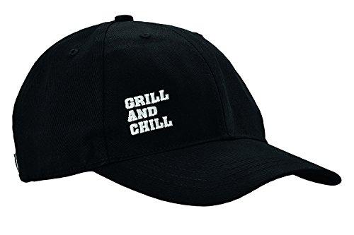 Rösle BBQ-Cap, Grill and Chill, Mütze, hochwertiger Stick, 100 Prozent Baumwolle