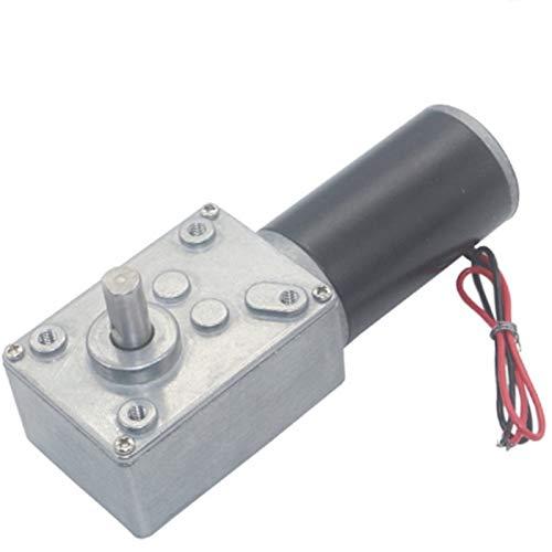 Lruirui-Motor DC Motor de reducción de Gusanos Turbo Gusano DC, Motor engranado, para Cortinas de Control Remoto. Thredders de Papel. Máquinas de Copia, Piezas de Bricolaje