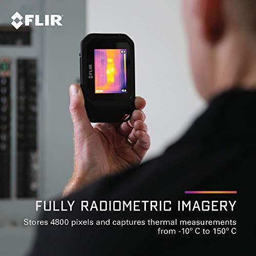 FLIR C3 Wärmebildkamera im Taschenformat mit Wifi - 10