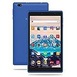 Tablet 8 Pulgadas Android 10 IPS Ultrar-Rápido Tablets HD 1280 * 800 Quad Core 3GB RAM 32GB/128GB ROM WiFi 5000mAh Bluetooth 4.2-Certificación Google GMS (Azul)