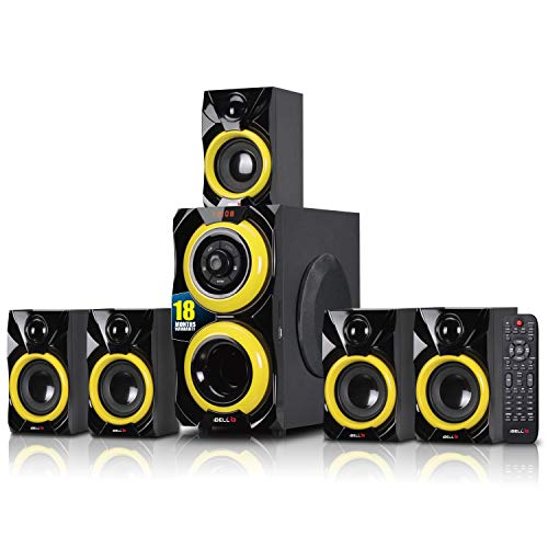 iBELL 2077DLX 5.1 Home theatre Speaker System