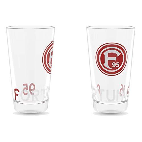 Fortuna Düsseldorf Wasserglas 2-er Set