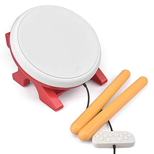 GoolRC Taiko No Tatsujin Master Drum Tamburo Taiko con Controller Drum Controller Set Accessori Sostituzione per Videogioco N-Switch