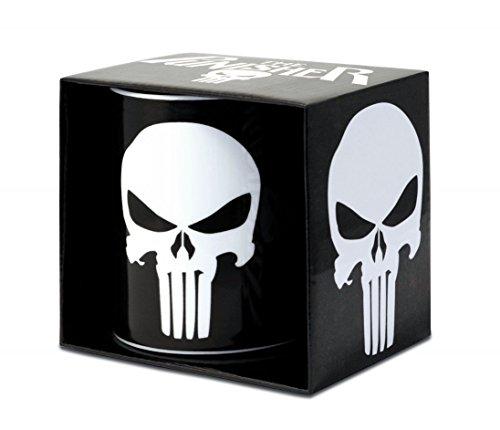 Marvel Comics - Keramik Tasse - The Punisher - Logo - Geschenkbox