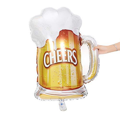 Kronen-Bier-Ballon für erwachsenes Kindergeburtstags-Hochzeits-Babyparty-Geschenk-Geschlecht-Partei-Dekor Balight