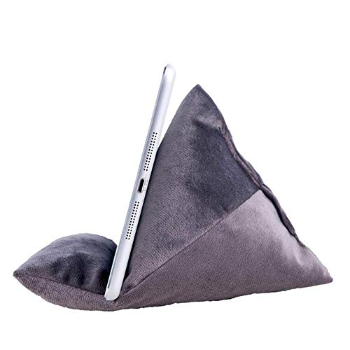 Fabric Phone Stands,Phone Pillow Holder,Velvet Phone Sofa Pad Cushion Multi-Angle Smartphone Stand Desktop Cell Phone Holder Universal for iPhone Android Phone Tablet iPad e-Reader