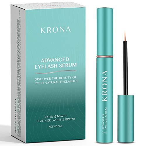 KRONA Advanced Eyelash Conditioner Serum and Eyebrow Enhancer -...