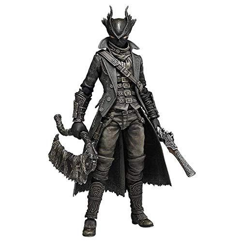 Bloodborne: Hunter Figma Action Figure - Einschließlich mehrerer Ausdrücke - High 15CM