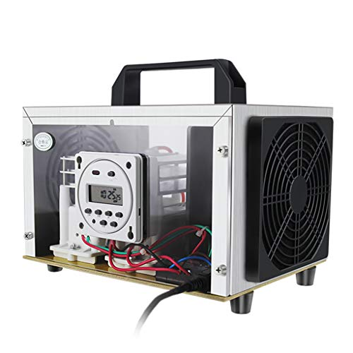 GXFC Purificatore d'Aria Commerciale Industriale 35000mg / h Generatore di Ozono Ionizzatore Casa per Stanza, Fumo, Auto, Officine e Ufficio Eliminare Odori