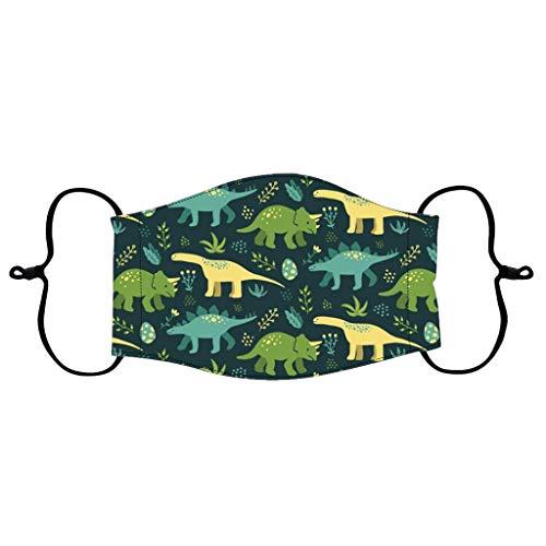 Bumplebee Waschbar Mund-Nasen-Masken Kinder Mädchen Junge Mundschutz mit Motiv Cartoon Mehrweg Atmungsaktiv Halstuch Bandana Stoff Tücher, Mund und Nasenschutz