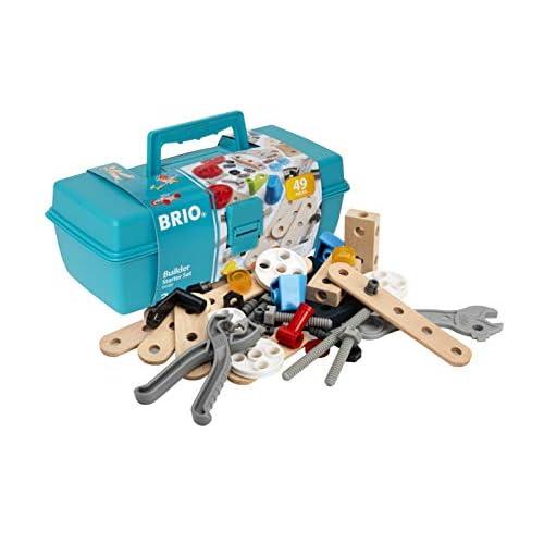 BRIO- Starter Set Costruzioni, 34586