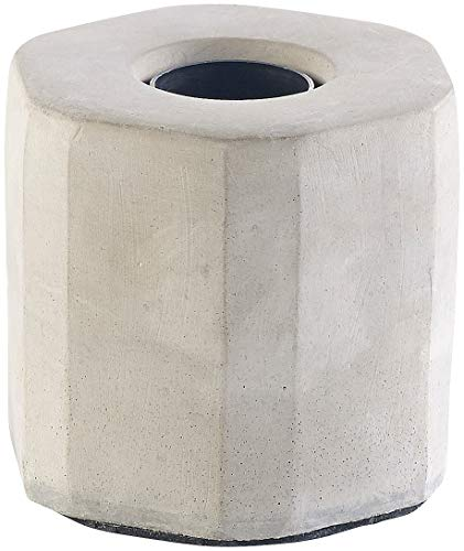 Lunartec Betonleuchte: Dekorative Beton-Tischleuchte für E27-Lampen, bis 40 Watt, grau (Beton Sockel Leuchte)