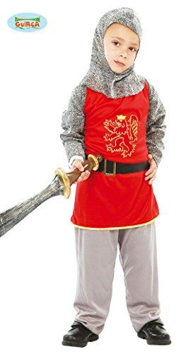 Guirca- Costume da Cavaliere Bambino 7/9 Anni, Colore, 81602