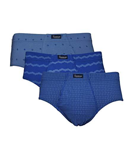 Abanderado LOS Esenciales Estampados Ropa Interior para Hombre, EST Azul Hojas, XEG/60