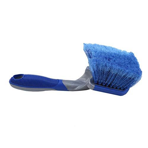 EPOWAD Herramientas de Lavado de Limpiador de neumáticos de Cepillo Suave 1pc para Detalles automáticos Herramientas de Limpieza de Motocicletas Azul 25 * 7 cm (Color : Blue)