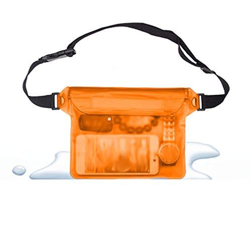 Figutsga - Funda para teléfono con correa ajustable para natación, bolsa de almacenamiento para playa a la deriva