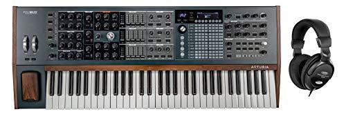 Arturia PolyBrute Set (6-stimmiger polyphoner analoger Synthesizer inkl. Kopfhörer)