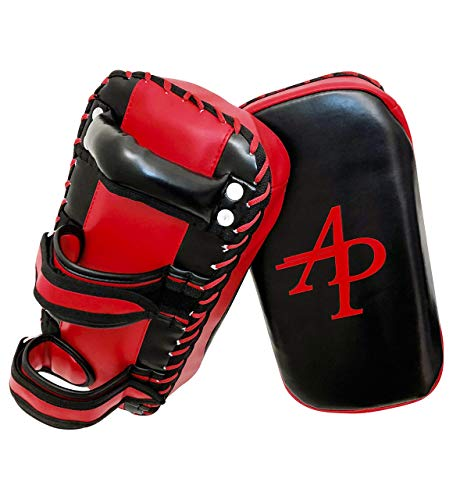 Kampfsport Training Kick Pratze, Sport Schlagschild, MMA Schlagpolster, Thaipads, Pad (vorgekrümmt), Trainerpratzen (EINZELTEIL)